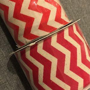 Red Chevron Ribbon TWO NEW SPOOLS